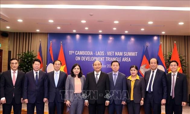 Hợp tác tại Khu vực Tam giác Phát triển Campuchia - Lào - Việt Nam ngày càng được tăng cường