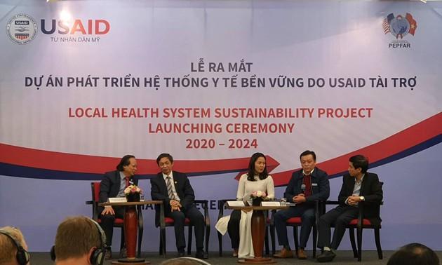 Ra mắt dự án Phát triển hệ thống y tế bền vững do USAID tài trợ