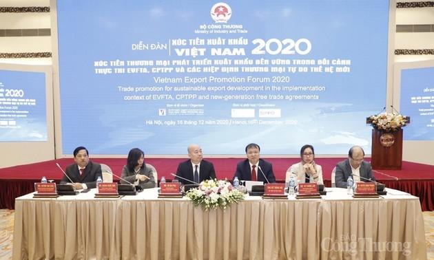 Dự kiến kim ngạch xuất khẩu hàng hóa của Việt Nam năm 2020 đạt gần 270 tỷ USD