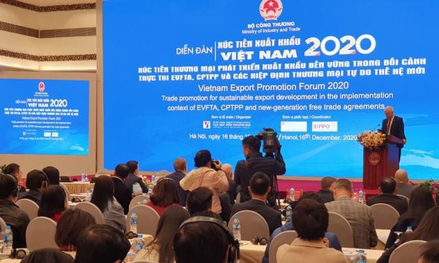 Xúc tiến thương mại, phát triển xuất khẩu bền vững trong bối cảnh mới