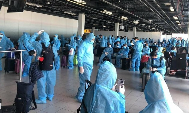 Đưa gần 350 công dân Việt Nam từ châu Âu, châu Phi và Nam Mỹ về nước