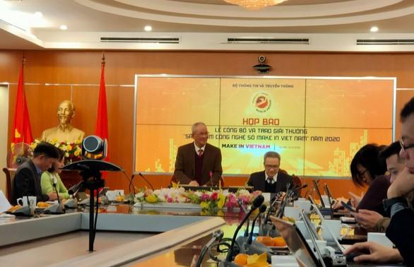 Công bố và trao 50 giải thưởng Sản phẩm công nghệ số Make in Viet Nam 2020