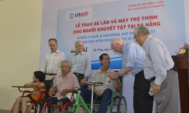 Hoa Kỳ hỗ trợ nâng cao chất lượng sống cho người khuyết tật Việt Nam