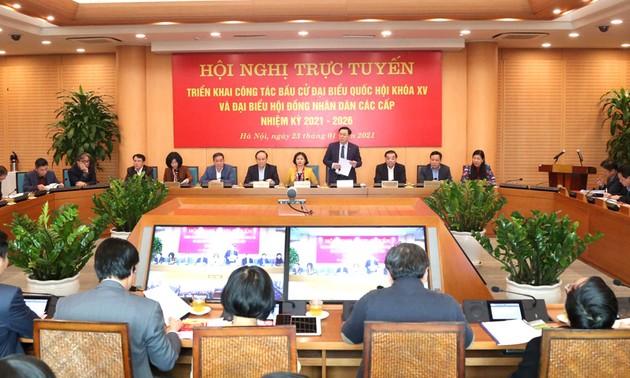 Hà Nội quyết tâm tổ chức bầu cử thành công