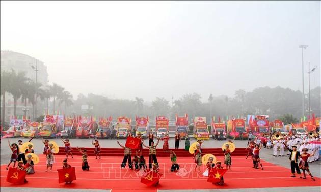 """Liên hoan Tuyên truyền cổ động """"Vinh quang Đảng Cộng sản Việt Nam"""""""