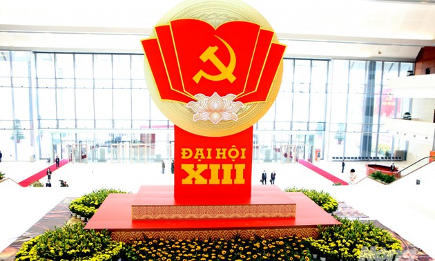 Đại hội XIII của Đảng Cộng sản Việt Nam bước vào ngày làm việc đầu tiên