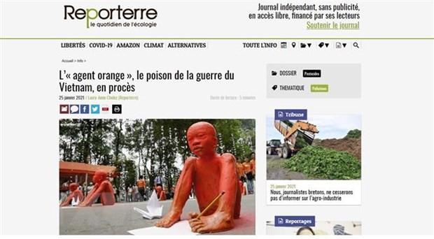 """Truyền thông Châu Âu đánh giá """"vụ kiện lịch sử"""" vì các nạn nhân chất độc da cam/dioxin Việt Nam"""