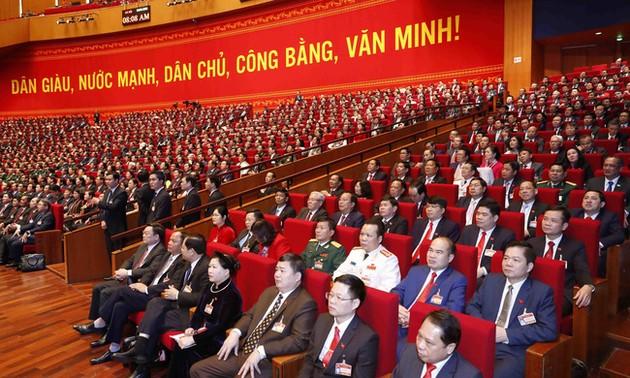 Ngày làm việc thứ 3 Đại hội đại biểu toàn quốc lần thứ XIII của Đảng Cộng sản Việt Nam
