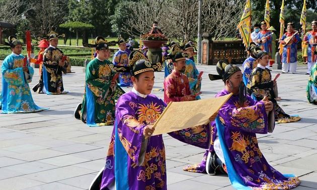Thừa Thiên - Huế: Tái hiện sân khấu hóa lễ Nguyên đán thời Nguyễn