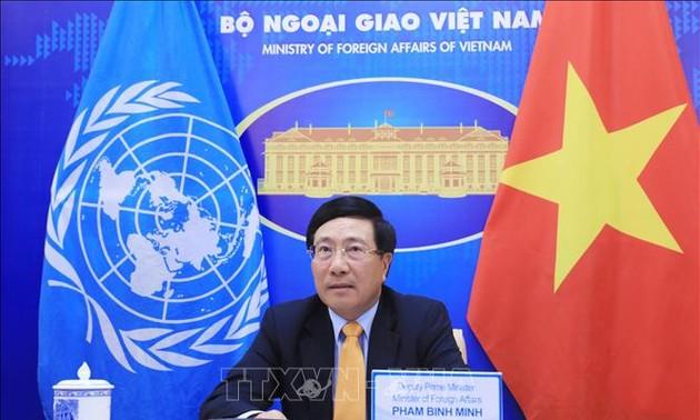 Việt Nam cam kết tiếp tục đóng góp hết sức mình vào nỗ lực chung cùng các nước vượt qua đại dịch