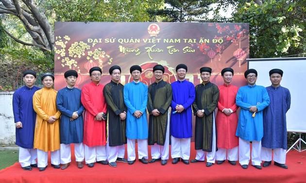 Đại sứ quán Việt Nam tại Ấn Độ  tổ chức gặp gỡ mừng Xuân Tân Sửu