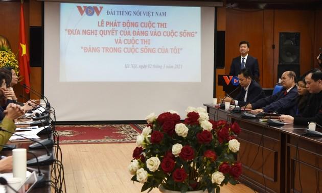 Đài Tiếng nói Việt Nam tổ chức tập huấn thông tin phục vụ tuyên truyền kết quả Đại hội Đảng