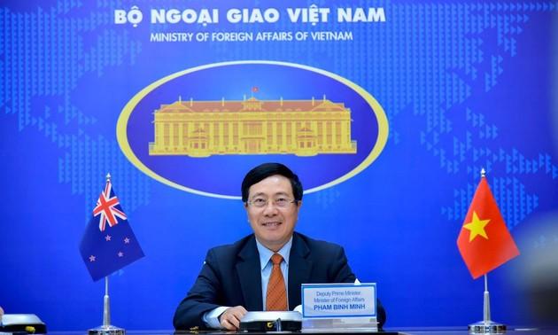 Tăng cường vai trò của hai Bộ ngoại giao trong thúc đẩy hợp tác Việt Nam - New Zealand