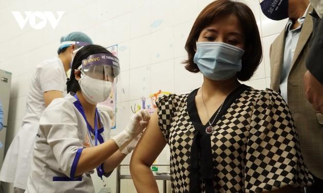 Hải Dương: Hơn 200 người được tiêm vaccine COVID-19 đợt 1 có sức khỏe ổn định