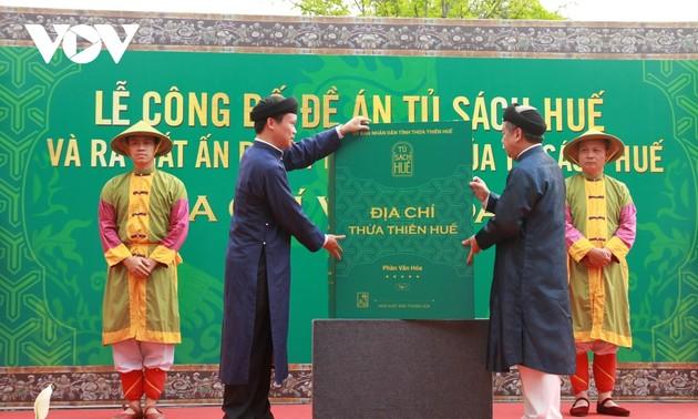 Thừa Thiên Huế: Công bố đề án Tủ sách Huế