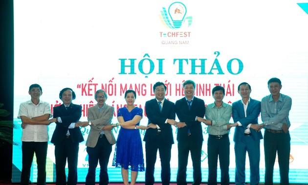 Kết nối mạng lưới hệ sinh thái khởi nghiệp sáng tạo miền Trung - Tây Nguyên