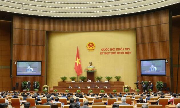 Quốc hội tiếp tục nghe trình bày báo cáo và thảo luận tại tổ về các báo cáo công tác nhiệm kỳ 2016 - 2021