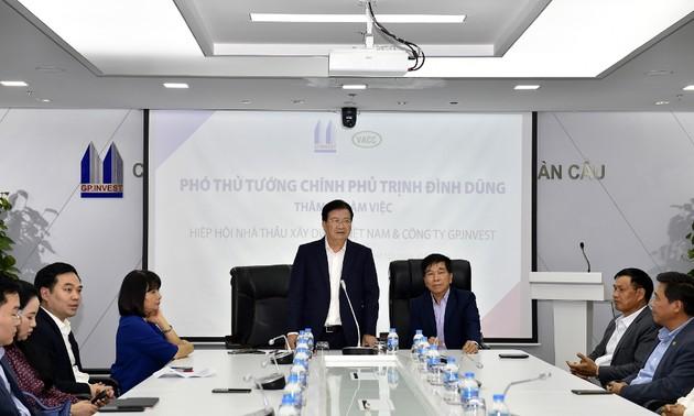 Nhà thầu xây dựng Việt Nam hoàn toàn đáp ứng yêu cầu trình độ công nghệ cao