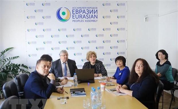 Hội thảo quốc tế về vai trò của Việt Nam trong không gian Á - Âu