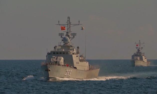 Hải quân Việt Nam - Hải quân Hoàng gia Thái Lan tuần tra chung lần thứ 43