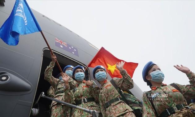 Thêm 24 quân nhân Việt Nam lên đường làm nhiệm vụ tại Nam Sudan