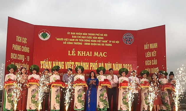 Khai mạc Tuần hàng Việt thành phố Hà Nội 2021