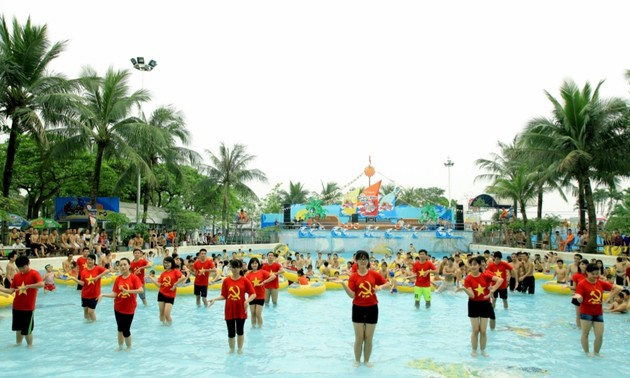 Công viên Nước Hồ Tây tổ chức các hoạt động hấp dẫn du khách dịp Hè 2021