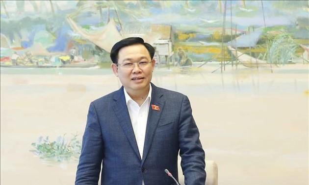 Chủ tịch Quốc hội Vương Đình Huệ ứng cử tại đơn vị bầu cử số 3, thành phố Hải Phòng