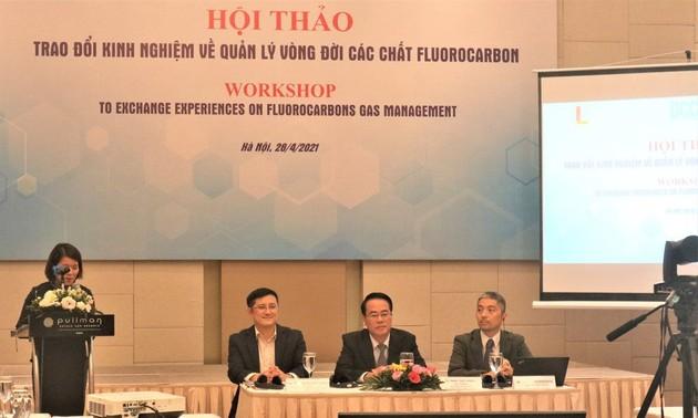 Đến năm 2024 Việt Nam bắt đầu không tiêu thụ chất làm suy giảm tầng ô zôn
