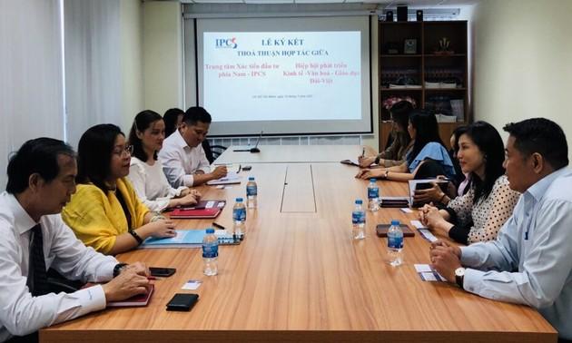 Hiệp hội Đài - Việt ký kết thoả thuận hợp tác với Trung tâm xúc tiến đầu tư phía nam IPCS