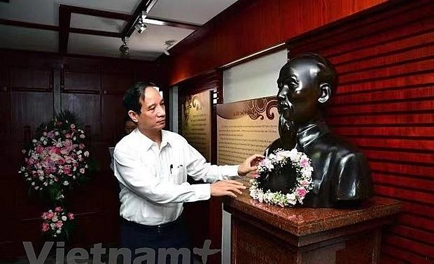 Kỷ niệm 131 năm Ngày sinh Chủ tịch Hồ Chí Minh ở Liễu Châu, Quảng Tây, Trung Quốc
