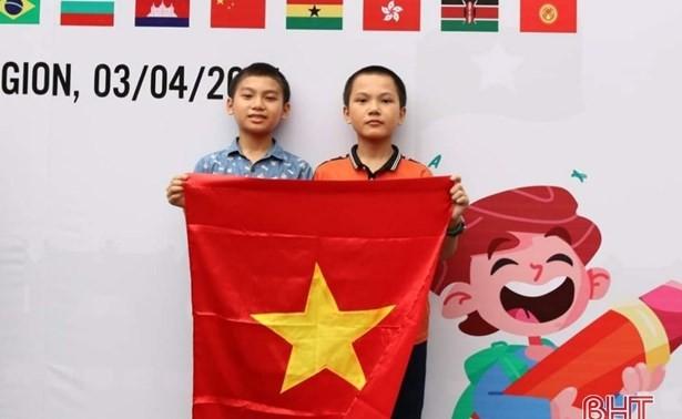 2 học sinh lớp 6 đạt Huy chương Đồng Olympic Toán quốc tế TIMO