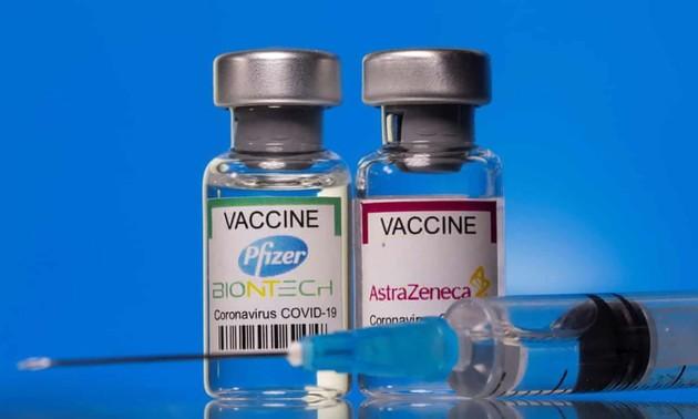 Việt Nam là một trong những nước được ưu tiên nhận 25 triệu liều vaccine đầu tiên của Mỹ
