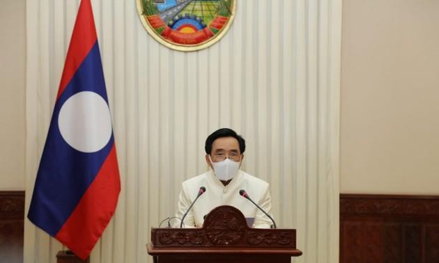 Thủ tướng Lào Phankham Viphavanh gửi thư thăm hỏi tình hình dịch COVID-19 tại Việt Nam