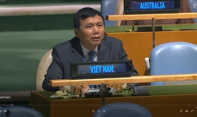 Việt Nam cam kết thúc đẩy vai trò của Hiến chương Liên hợp quốc và luật pháp quốc tế