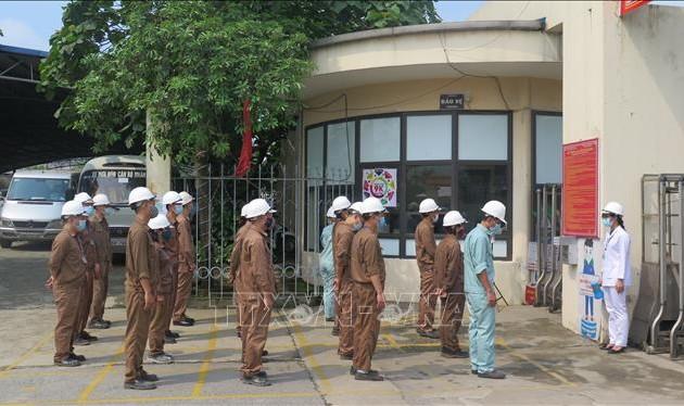 Lào Cai diễn tập phòng, chống dịch COVID-19 trong khu công nghiệp