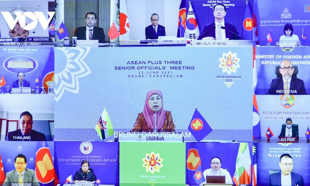 SOM ASEAN+3 nghiên cứu, phát triển và tiếp cận vaccine ngừa COVID-19 an toàn, hiệu quả