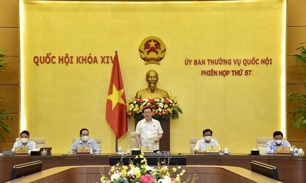 Khai mạc phiên họp 58 của Ủy ban Thường vụ Quốc hội