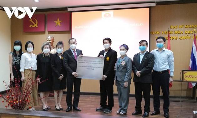 Cộng đồng người Việt tại Thái Lan ủng hộ hơn 1 tỷ đồng cho quỹ vaccine
