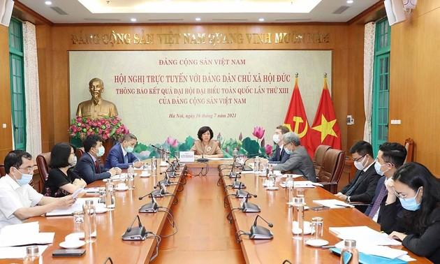 Tăng cường hợp tác Đảng Cộng sản Việt Nam với Đảng dân chủ xã hội Đức