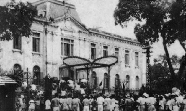Cách mạng tháng Tám 1945 bài học về quy tụ sức mạnh nhân dân dưới sự lãnh đạo của Đảng cộng sản Việt Nam