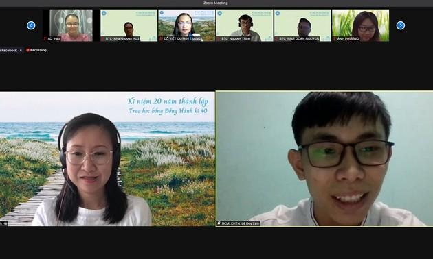 Quỹ Đồng Hành thông báo kết quả hoạt động dành cho sinh viên Việt Nam