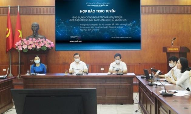Bảo tàng lịch sử quốc gia Việt Nam công bố các sản phẩm công nghệ trong hoạt động trưng bày