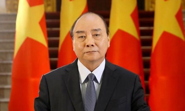 Chủ tịch nước Nguyễn Xuân Phúc gửi Thư đến cử tri Thành phố Hồ Chí Minh với tư cách là đại biểu Quốc hội