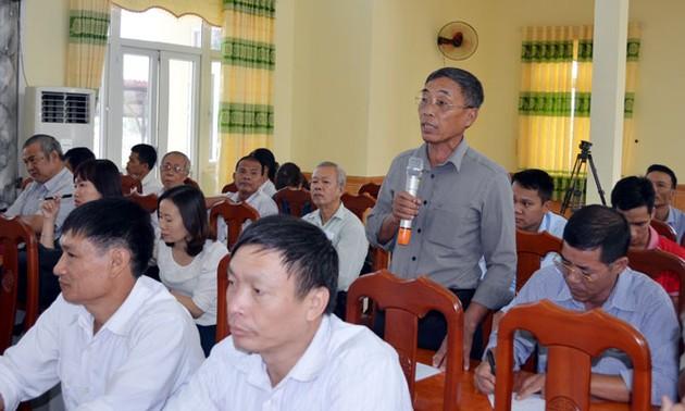 Избиратели на юго-востоке страны интересуются вопросом повышения эффективности работы госаппарата