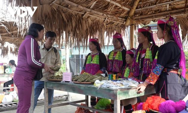 Базар Халау в уезде Тьенйен