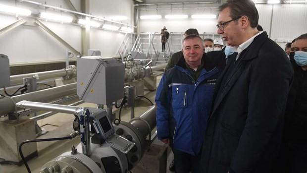 Россия начала поставлять газ в Сербию