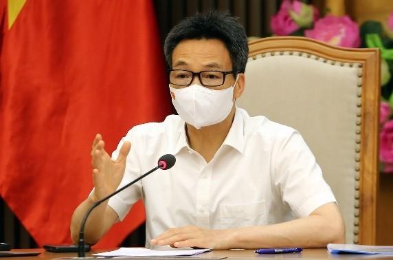 Вице-премьер Ву Дык Дам провёл онлайн-совещание по ситуации с коронавирусом