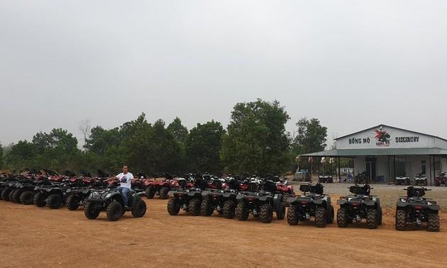Экскурсия в лес на внедорожниках ATV