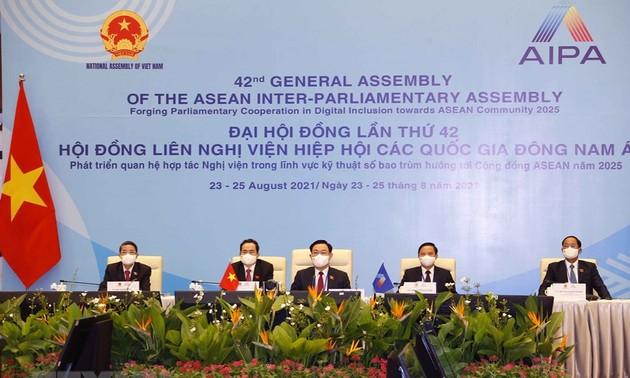 Вьетнам со всей ответственностью вносит существенный вклад в многовекторное межпарламентское сотрудничество